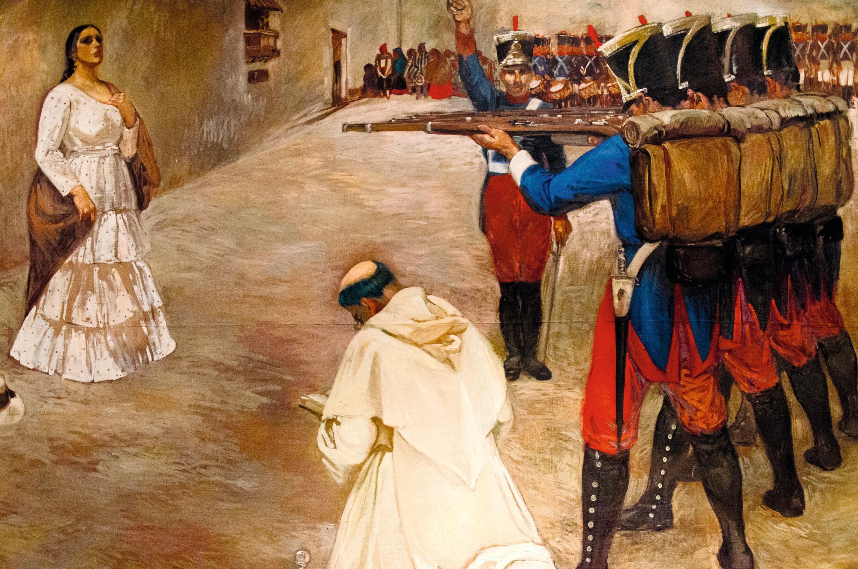 Consuelo Cisneros, Fusilamiento de María Parado de Bellido, 1929.