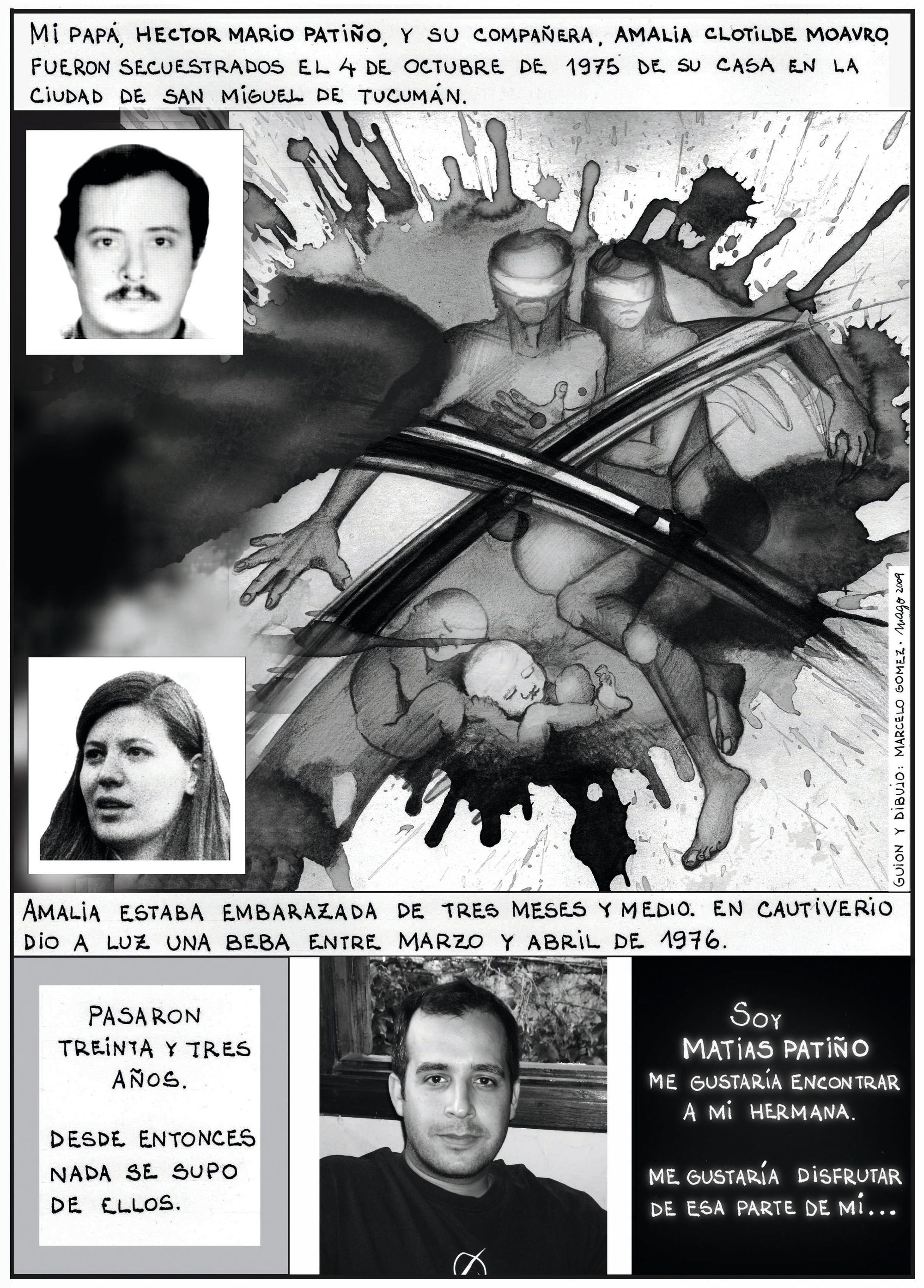 Marcelo Gómez, Historietas por la identidad 2