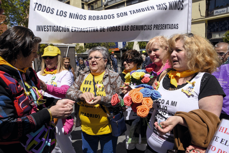 Manifestación durante el proceso del doctor Eduardo Vela, octubre de 2018.