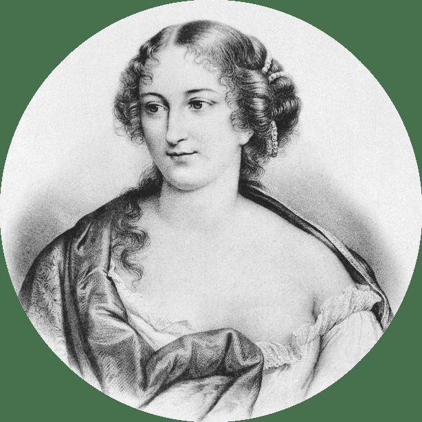 Dessin Antoinette Deshoulieres.