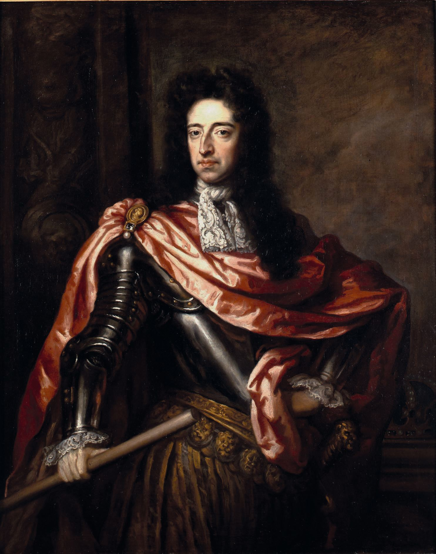 Godfrey Kneller, Portrait de Guillaume III, 1689, huile sur toile