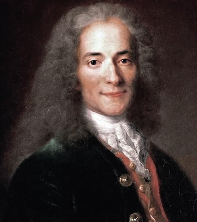 Nicolas de Largillière, Portrait de Voltaire, v. 1720, huile sur toile
