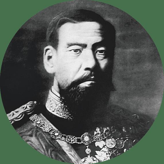 Mutsuhito dit l'empereur Meiji