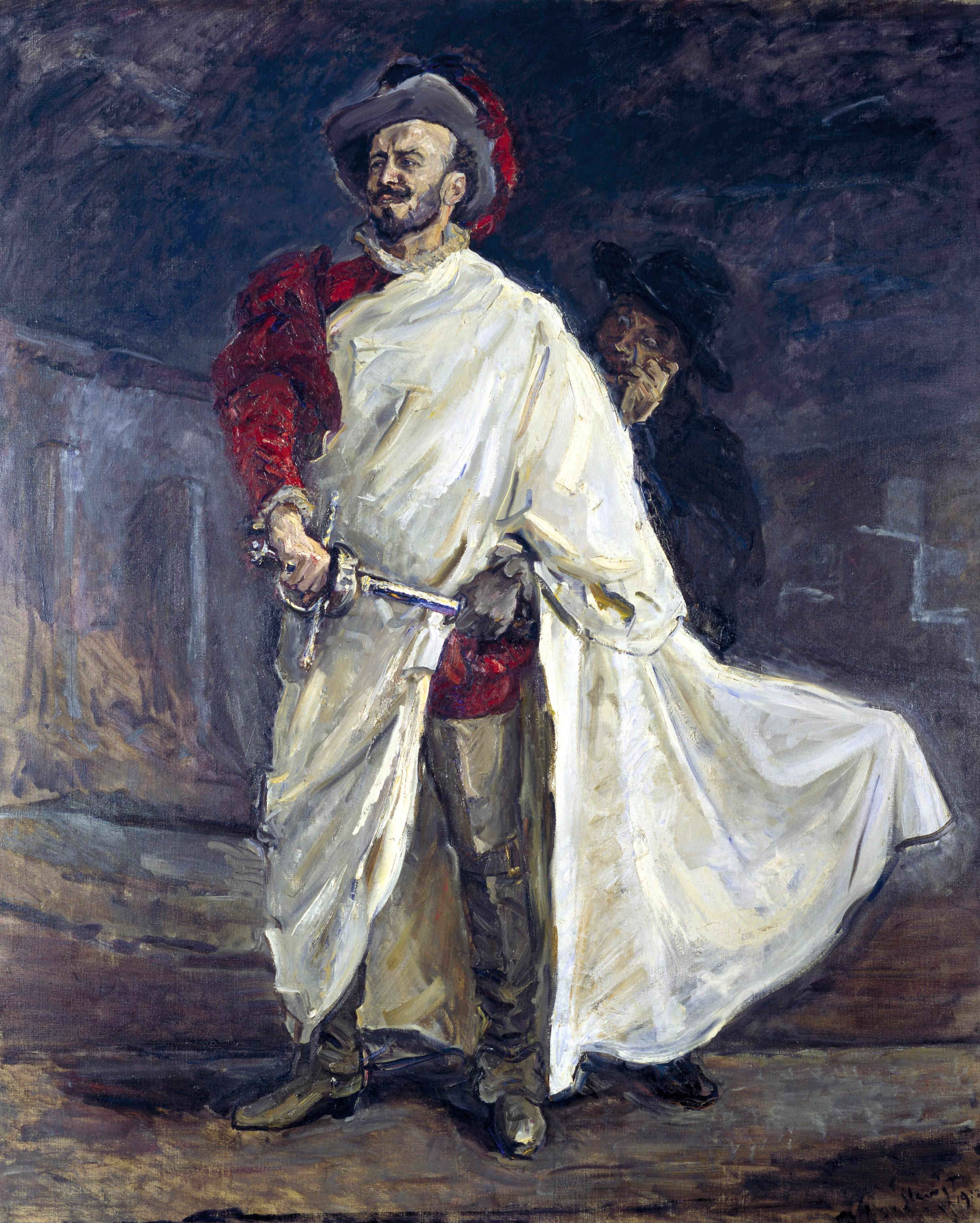 Max Slevogt, Portrait de Francisco d'Andrade dans le rôle titre de Don Giovanni, 1912, Alte Nationalgalerie, Berlin.