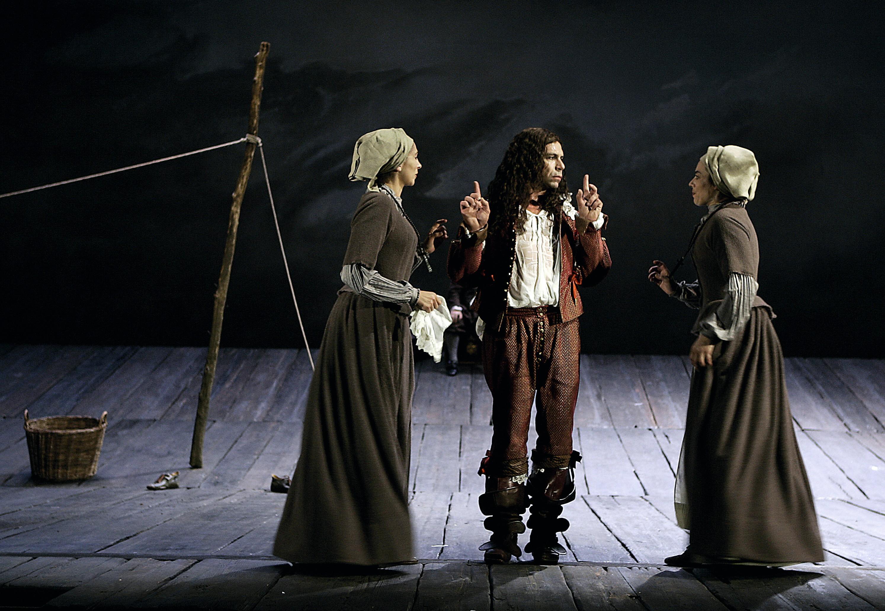 Dom Juan, mise en scène de Philippe Torreton, Théâtre Marigny, Paris, 2007.