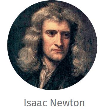 Portrait de Isaac Newton