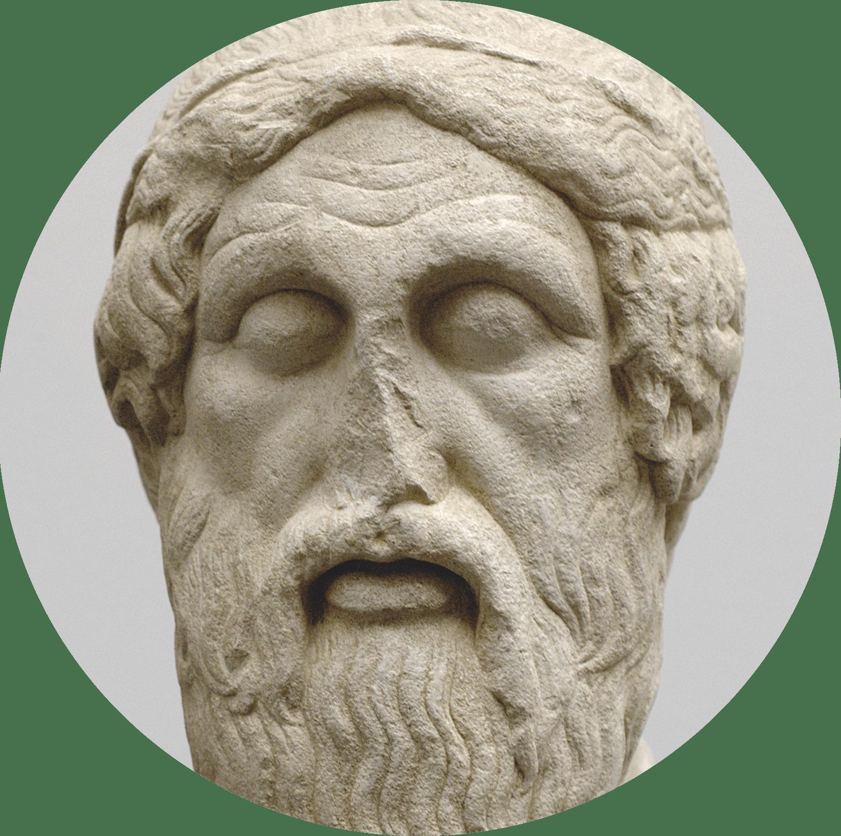 Statue Homere