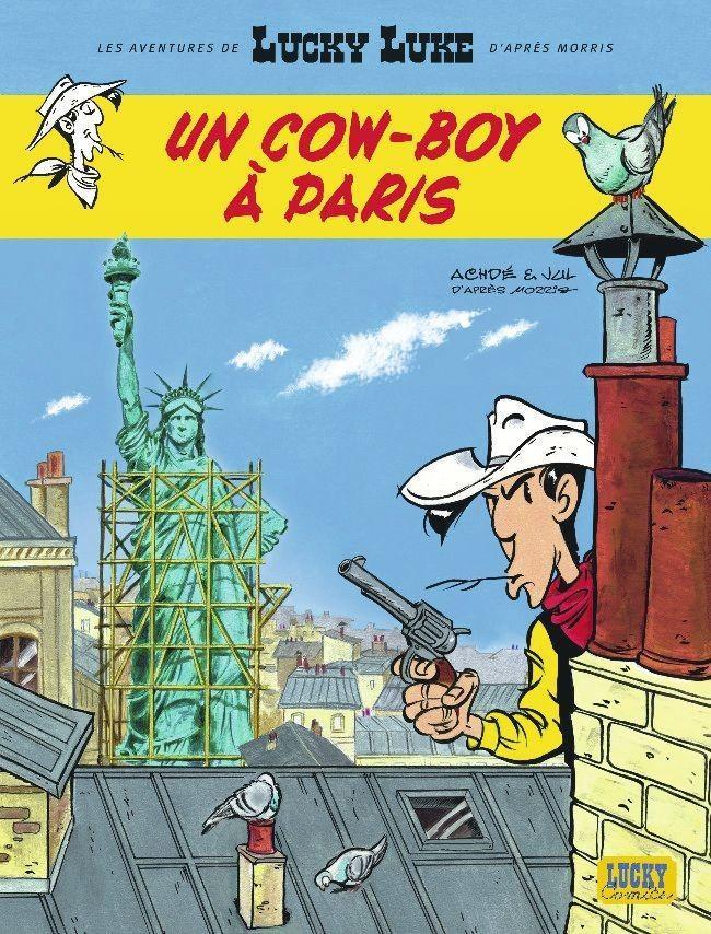 Jul et Achdé, Un cow-boy à Paris, 2018.