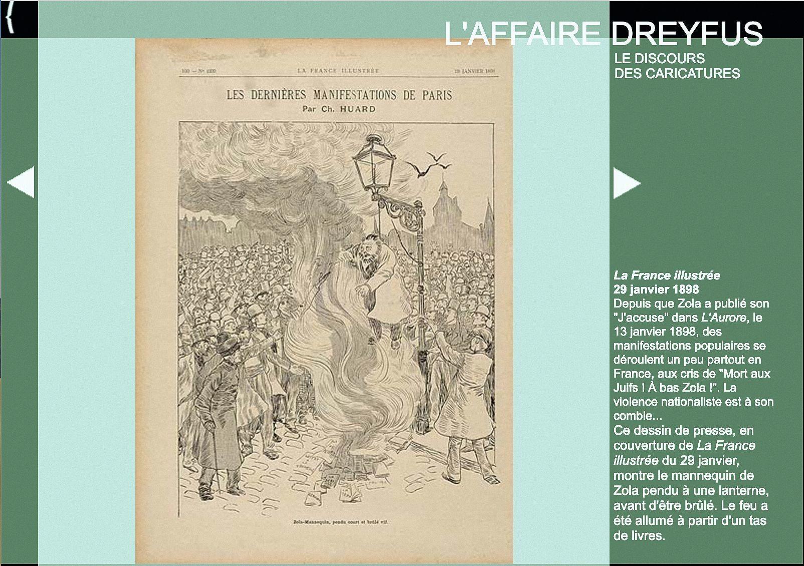 « L'affaire Dreyfus », exposition de la BnF