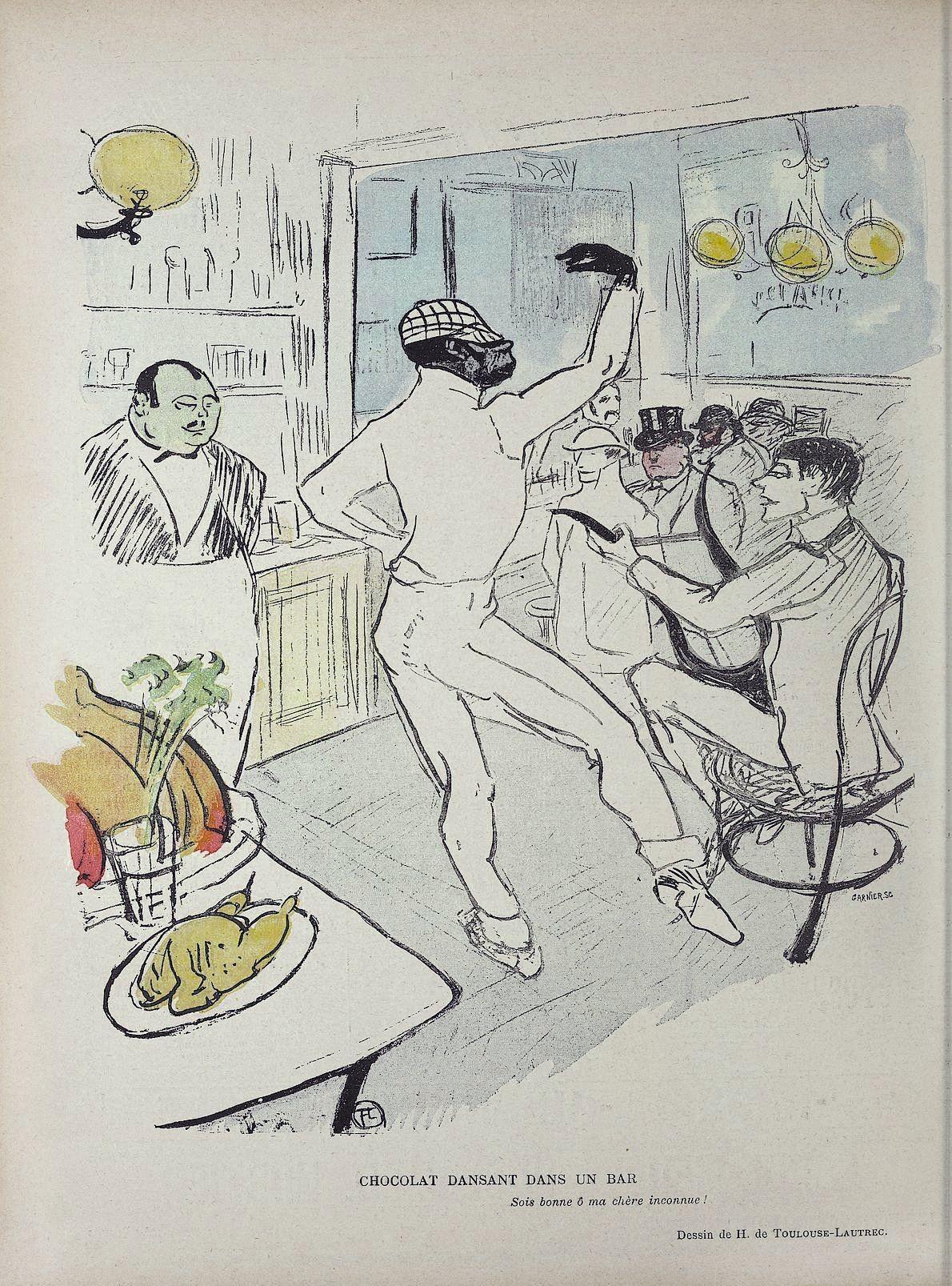 Henri de Toulouse‑Lautrec, lithographie parue dans Le Rire