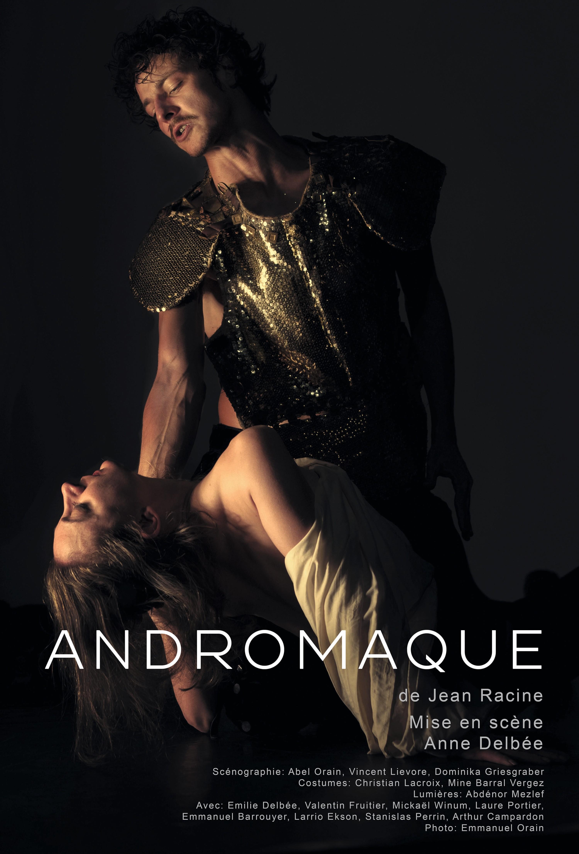 Andromaque, mise en scène d'Anne Delbée, château de Versailles, 2018.