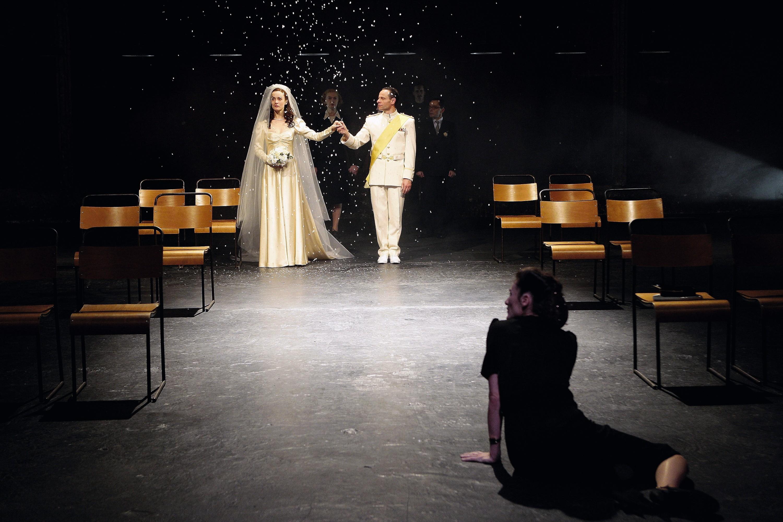 Andromaque de Jean Racine, mise en scène de Declan Donnellan, théâtre des Bouffes du Nord, Paris, 2007.