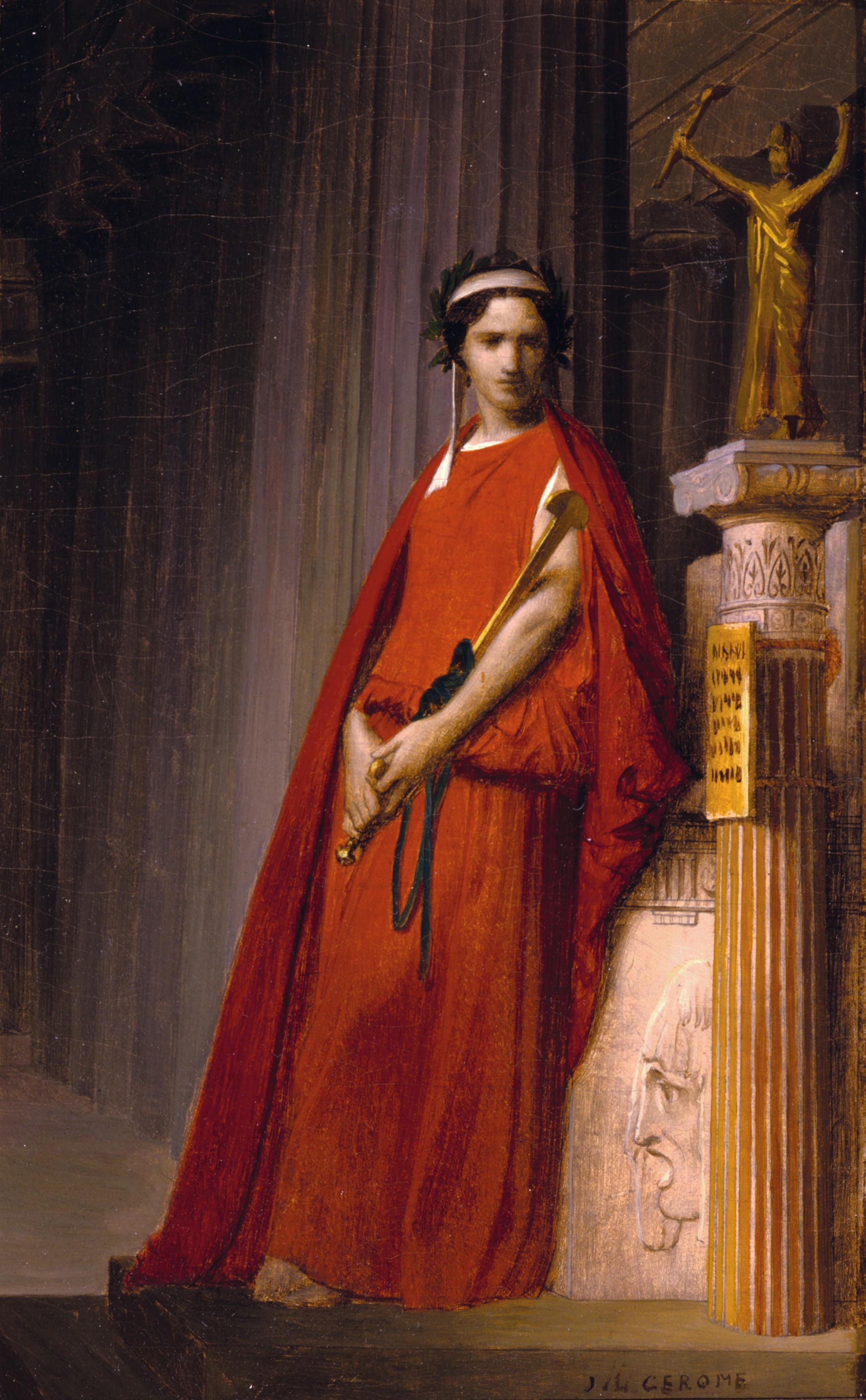 Jean-Léon Gérôme, Étude pour Rachel, 1859, huile sur toile, Dahesh Museum of Art, New York, États-Unis.