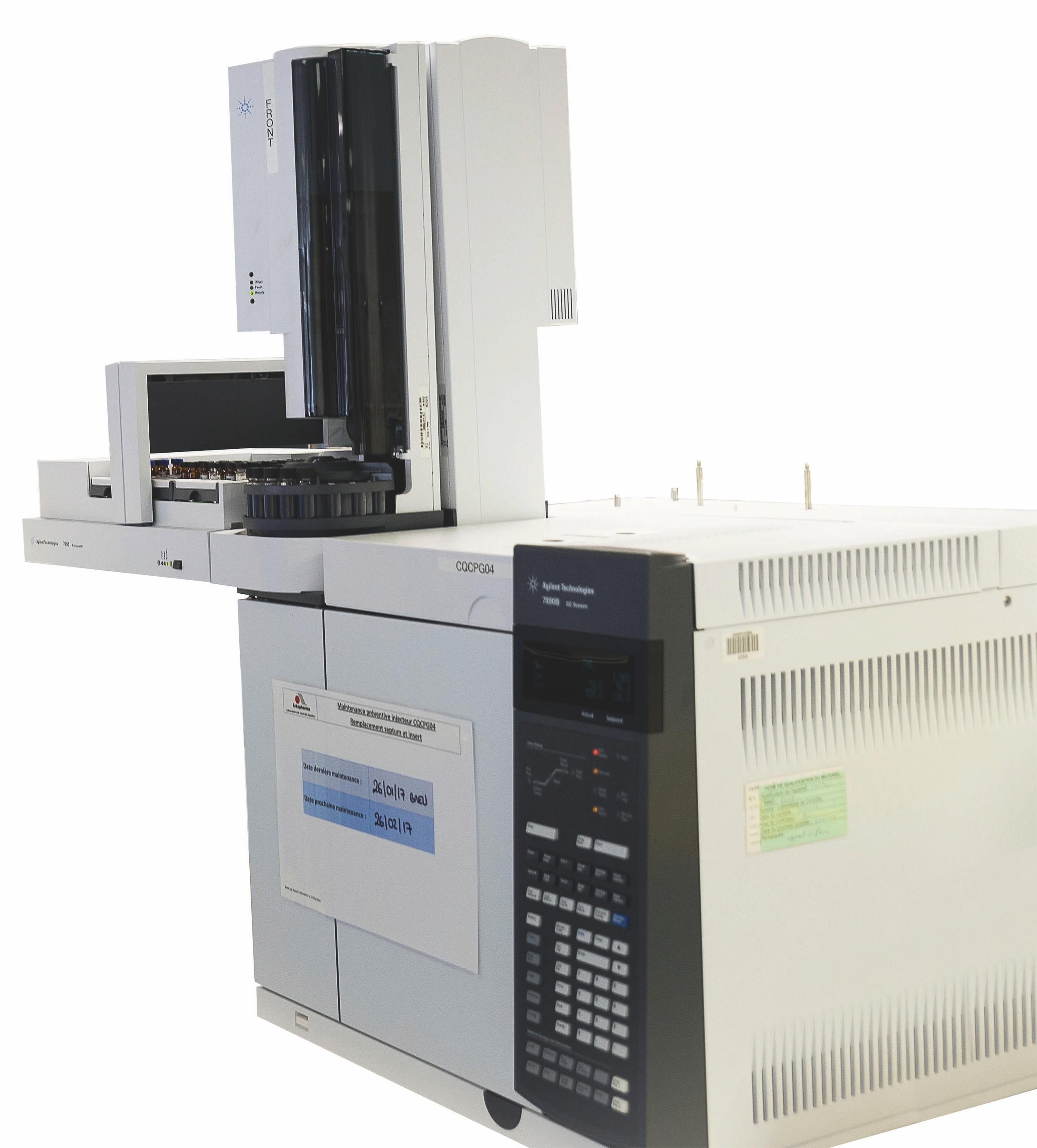 Appareil de chromatographie en phase gazeuse