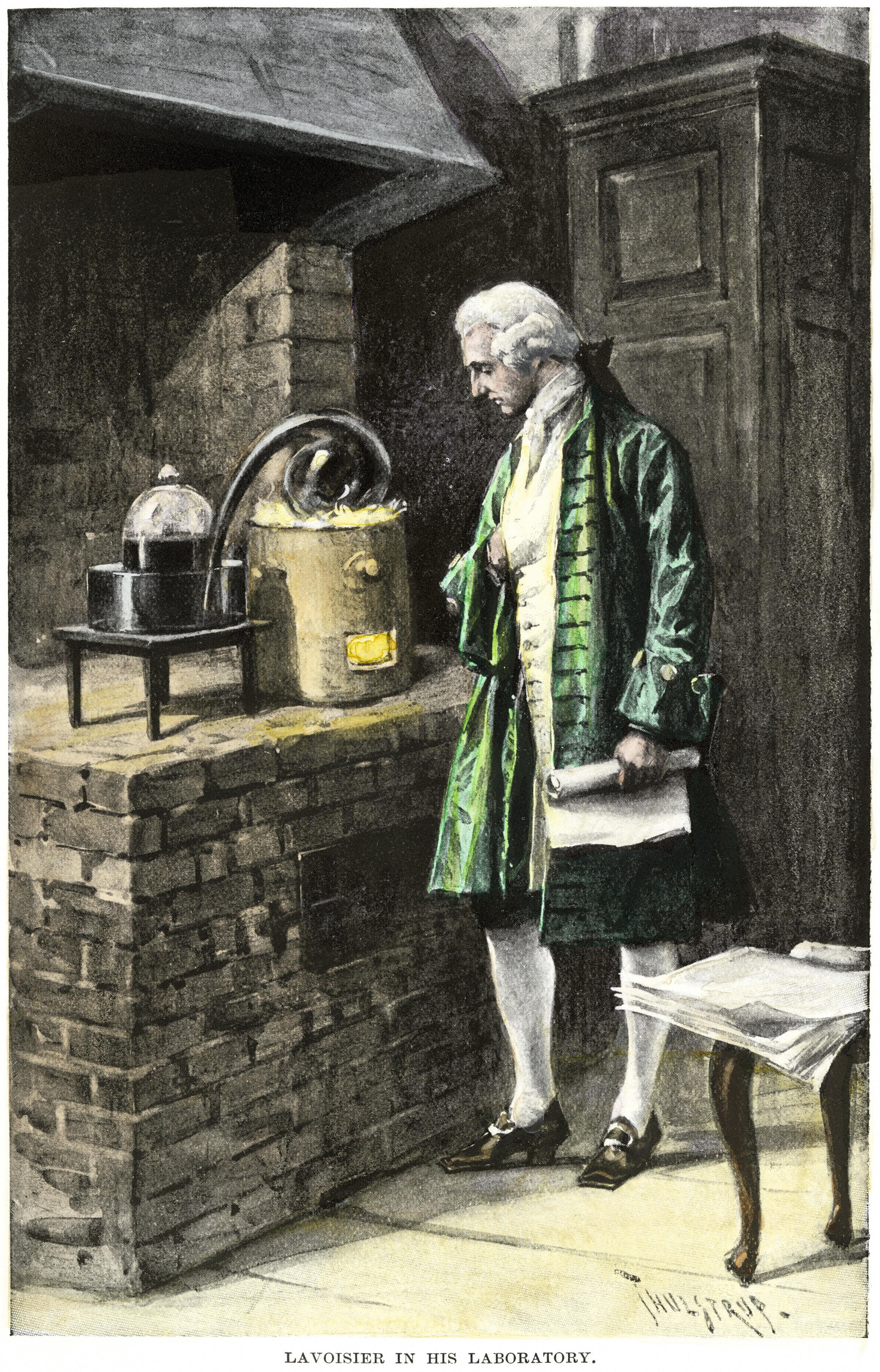 Expérience de Lavoisier