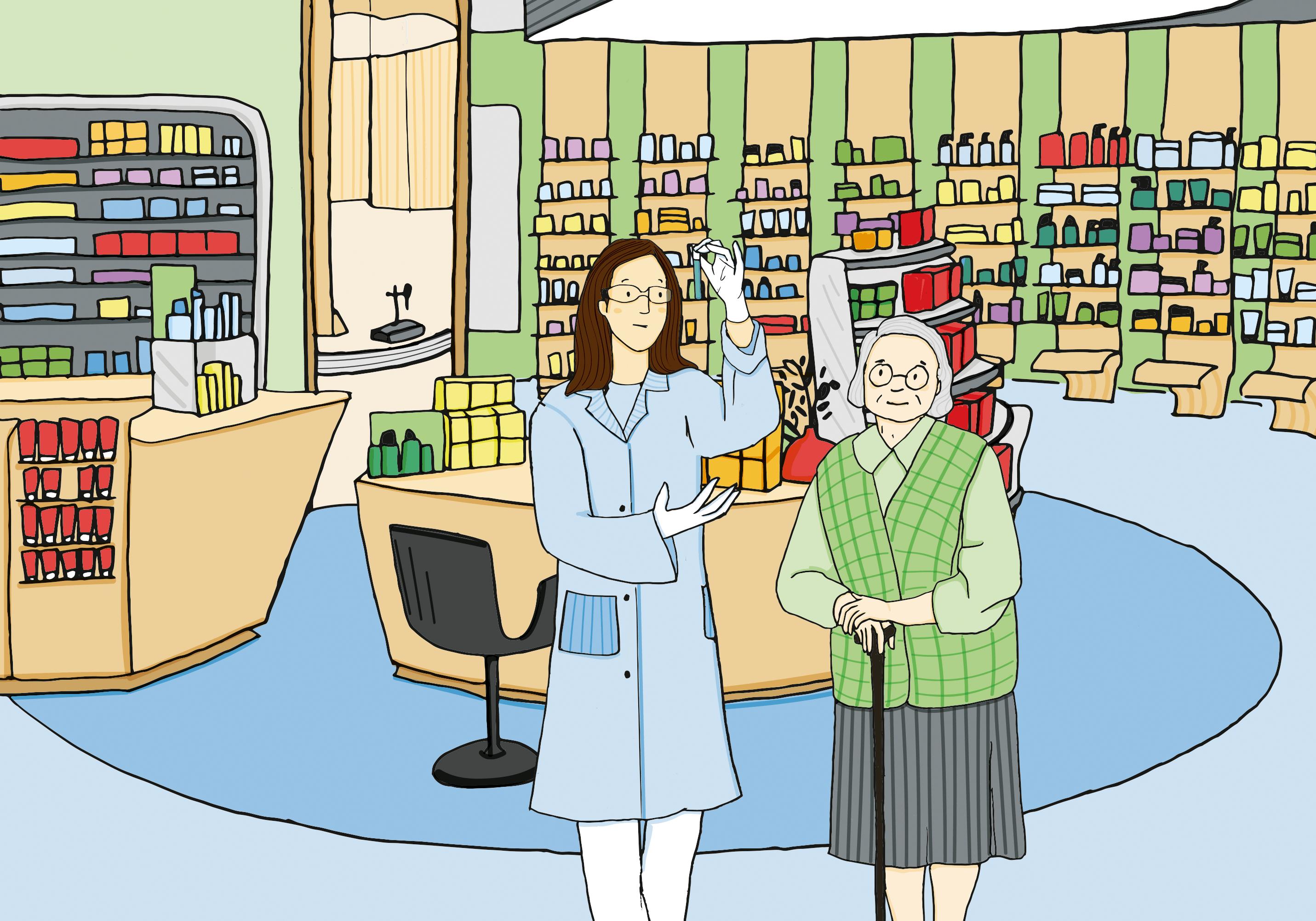 Pharmacie illustration