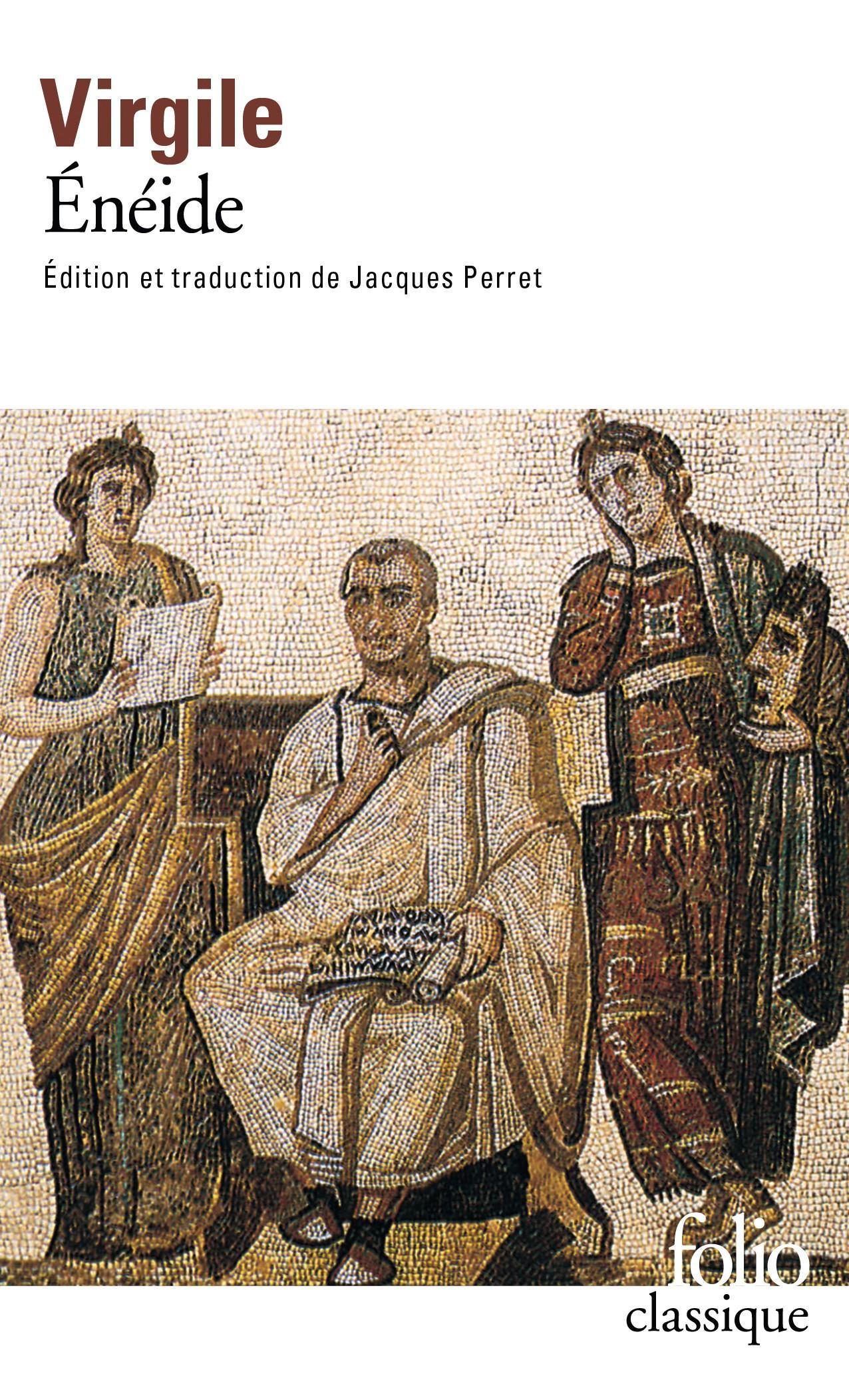 Couverture de L'Énéide de Virgile.