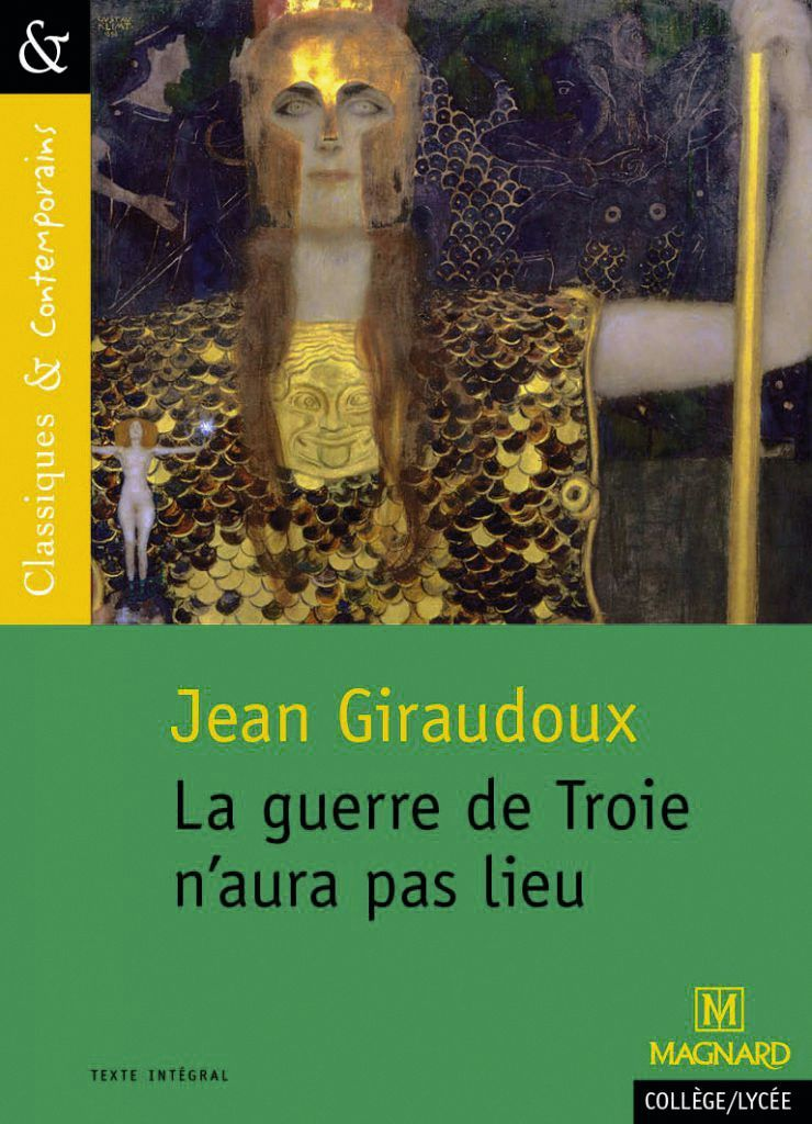 Couverture de La guerre de Troie n'aura pas lieu de Jean Giraudoux.