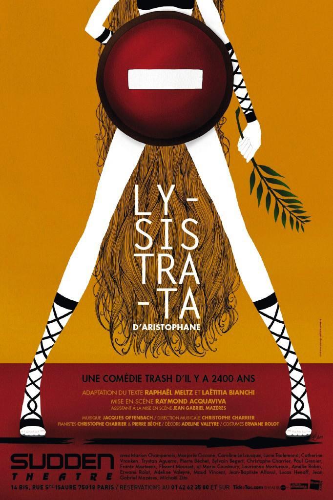 Affiche de Lysistrata, mise en scène de Raymond Acquaviva, 2011