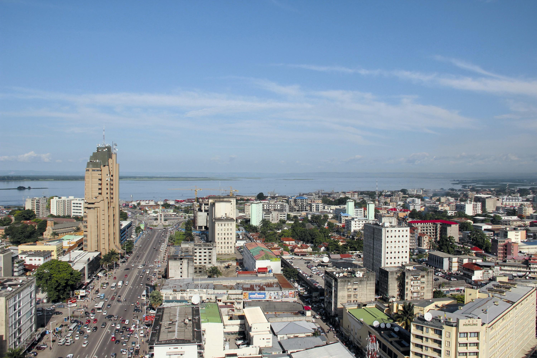 Vue de Kinshasa, capitale de la République démocratique du Congo (RDC)