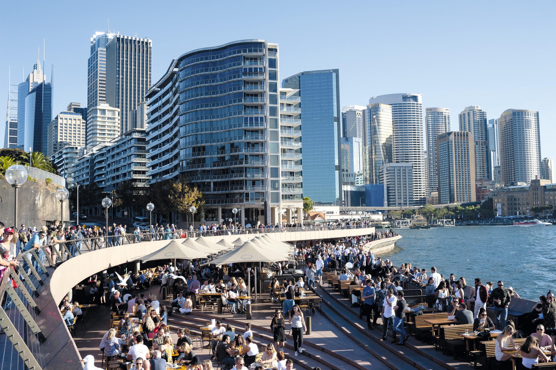 Le front de mer à Sydney (Australie)
