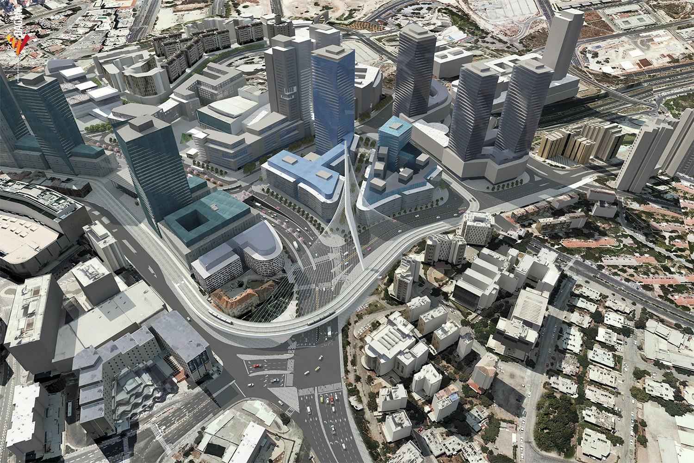 Le quartier d'affaires de Jérusalem se réinvente