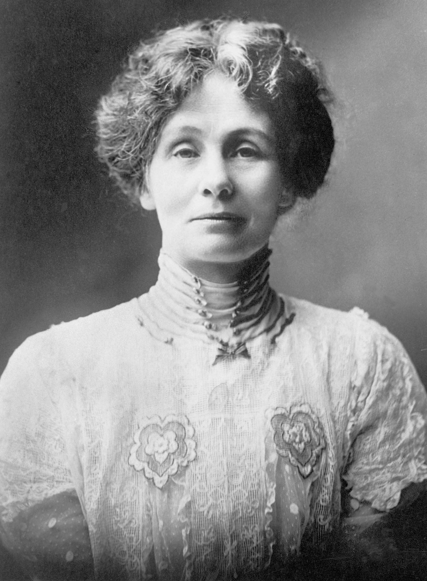 Portrait d'Emmeline Pankhurst, 1914