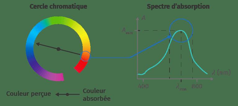 Cercle chromatique et spectre
