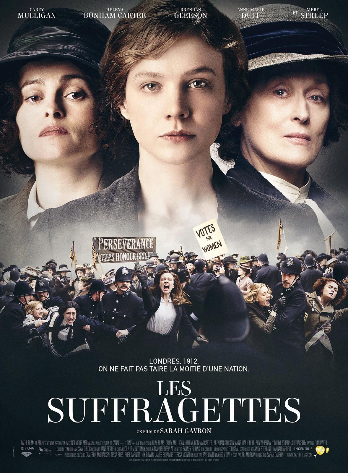 Sarah Gavron, Les Suffragettes, 2015.