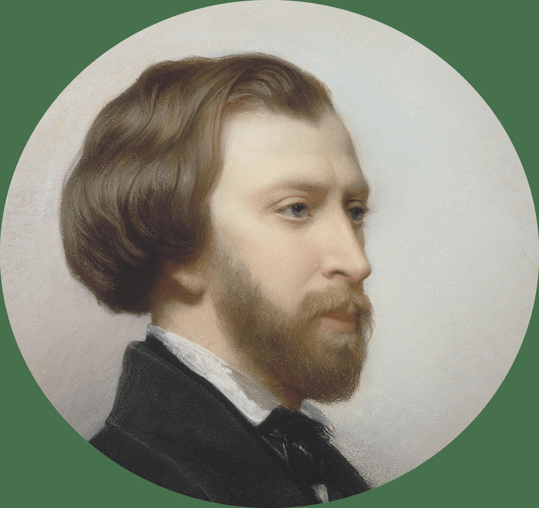 Portrait Alfred de Musset