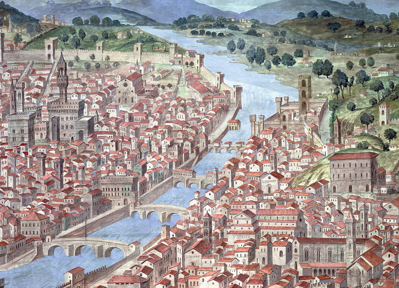 Tableau vue panoramique Florence