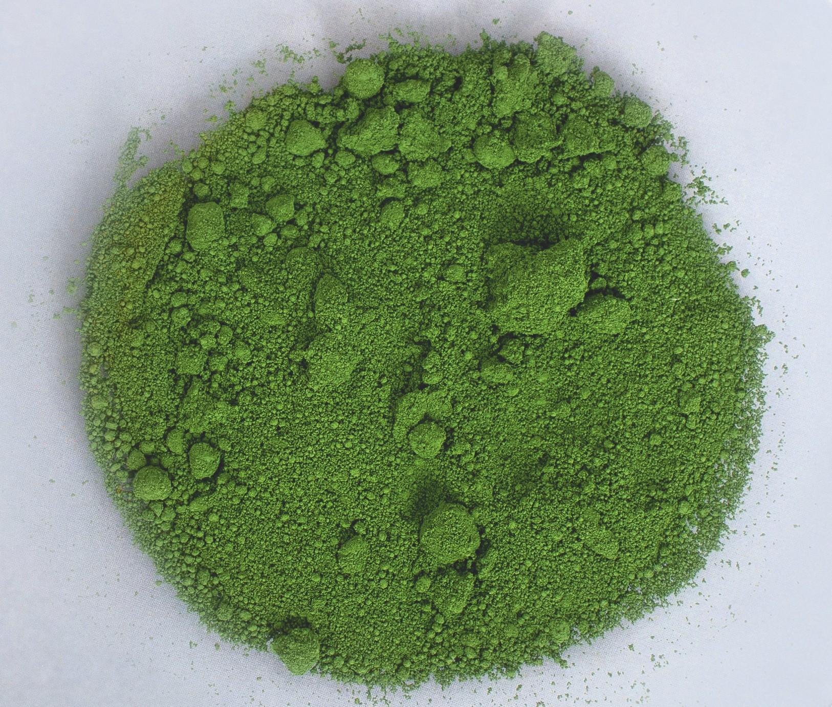 Oxyde de chrome III en poudre