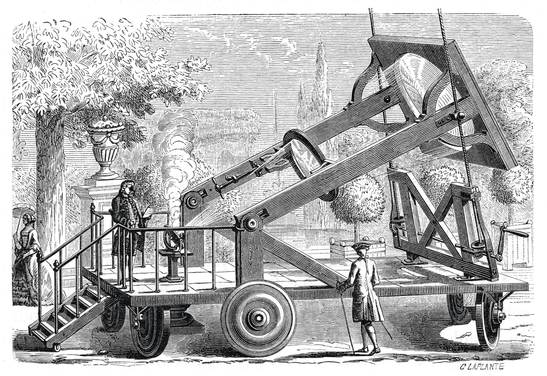 Antoine de Lavoisier fait « disparaître » des diamants grâce à une lentille concentrant la lumière du Soleil en élevant ainsi fortement la température.