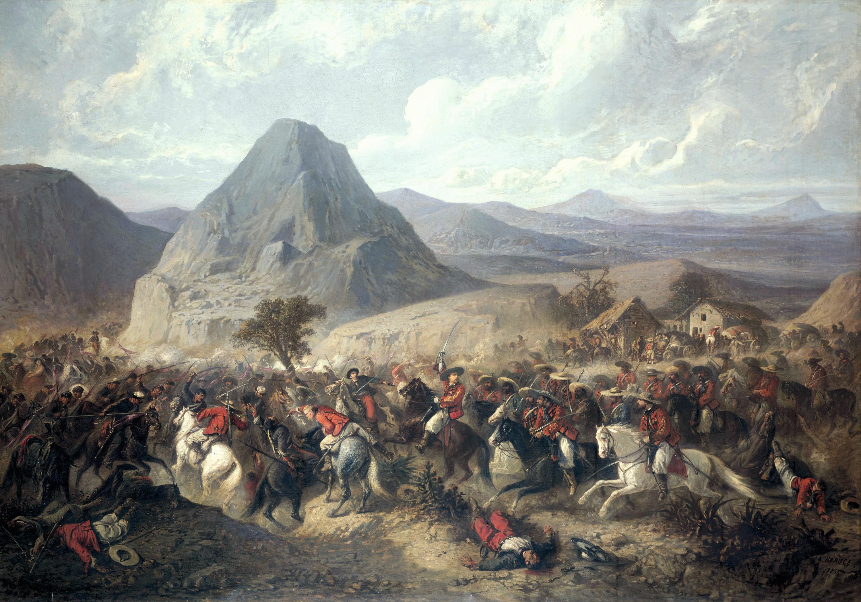 Jean-Adolphe Beaucé, Bataille de Hierba-Buena le 8 juin 1865