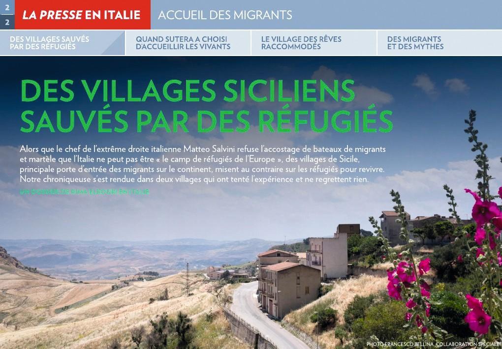Des intégrations réussies : un exemple sicilien