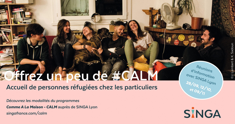 CALM (Comme à la maison): un réseau pour héberger temporairement des réfugiés