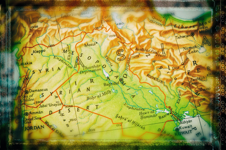 Recherche terrain en Mésopotamie