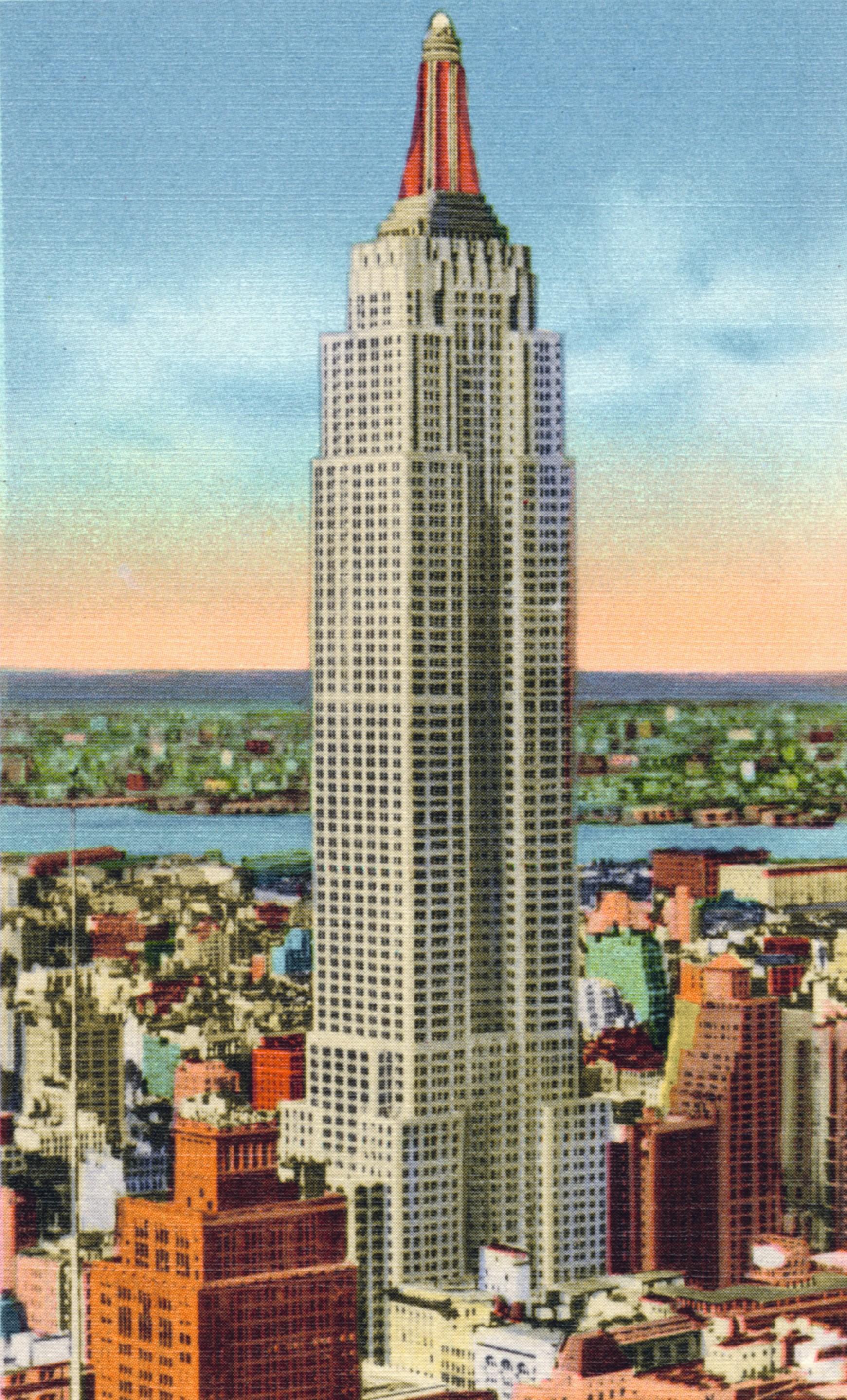 La tour Rockefeller, du nom du fondateur de la Standard Oil, entreprise démantelée en 1911 au nom de la politique antitrust