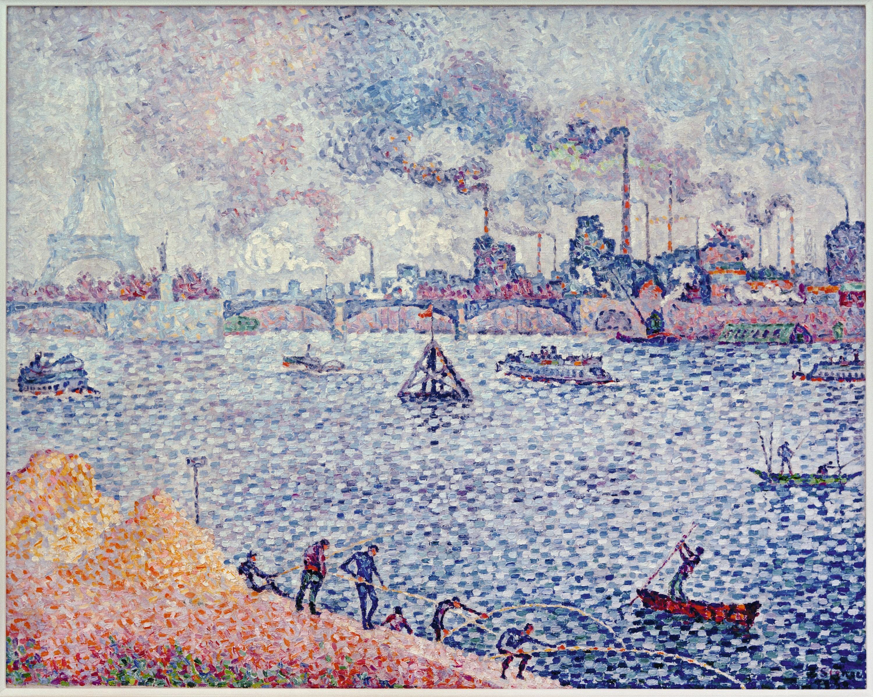 Pont de Grenelle, Paul Signac, 1899.
