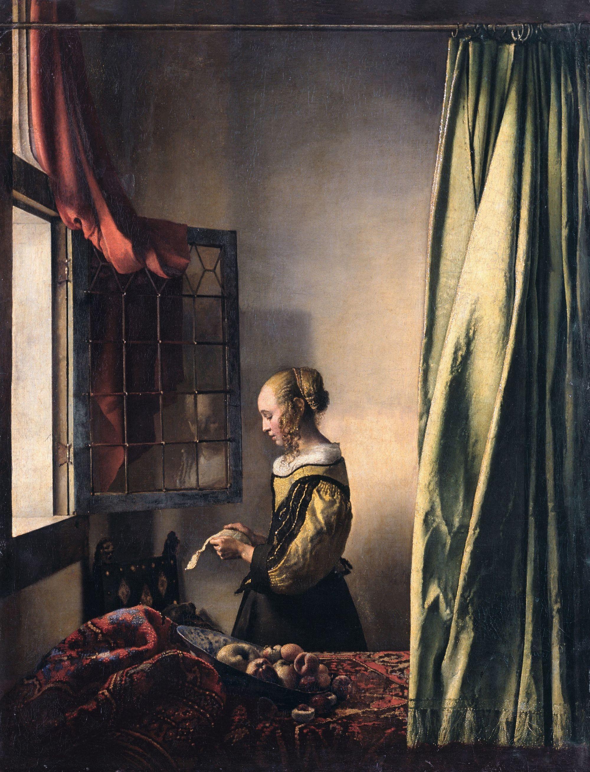 Johannes Vermeer La Liseuse à la fenêtre
