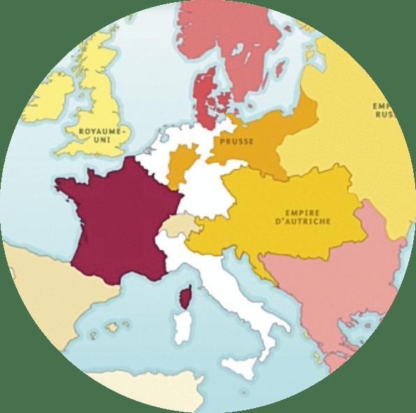Le congrès de Vienne (1814‑1815)