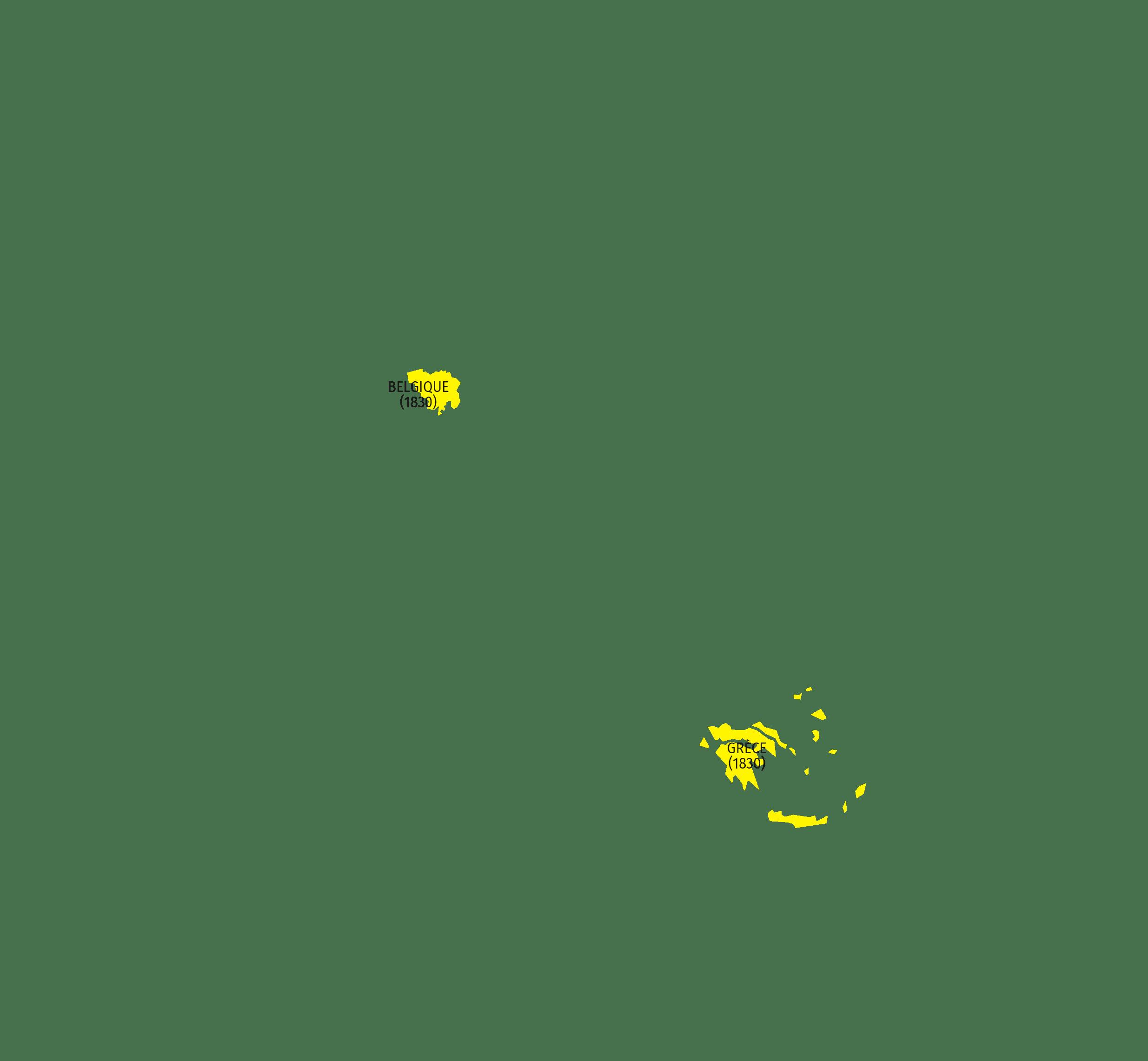 De nouveaux États