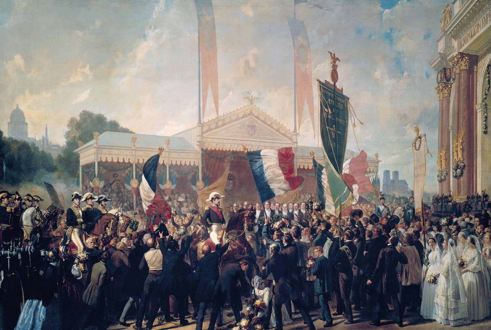 Charles Philippe Larivière, Entrée triomphale de Louis-Napoléon Prince-Président à Paris, le 17 octobre 1852