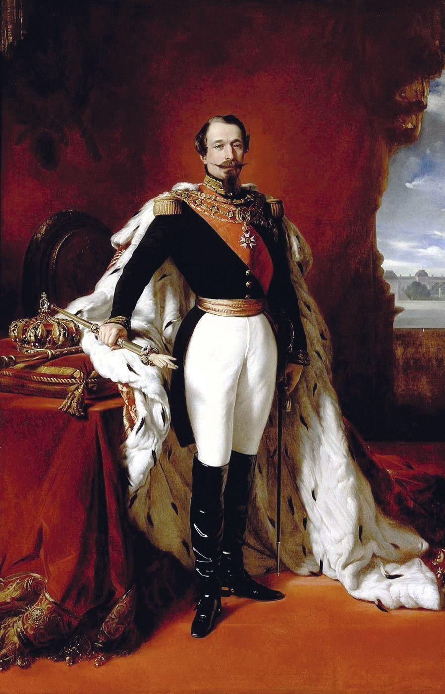 Franz Xaver Winterhalter, Napoléon III, empereur des Français, 1855, huile sur toile.
