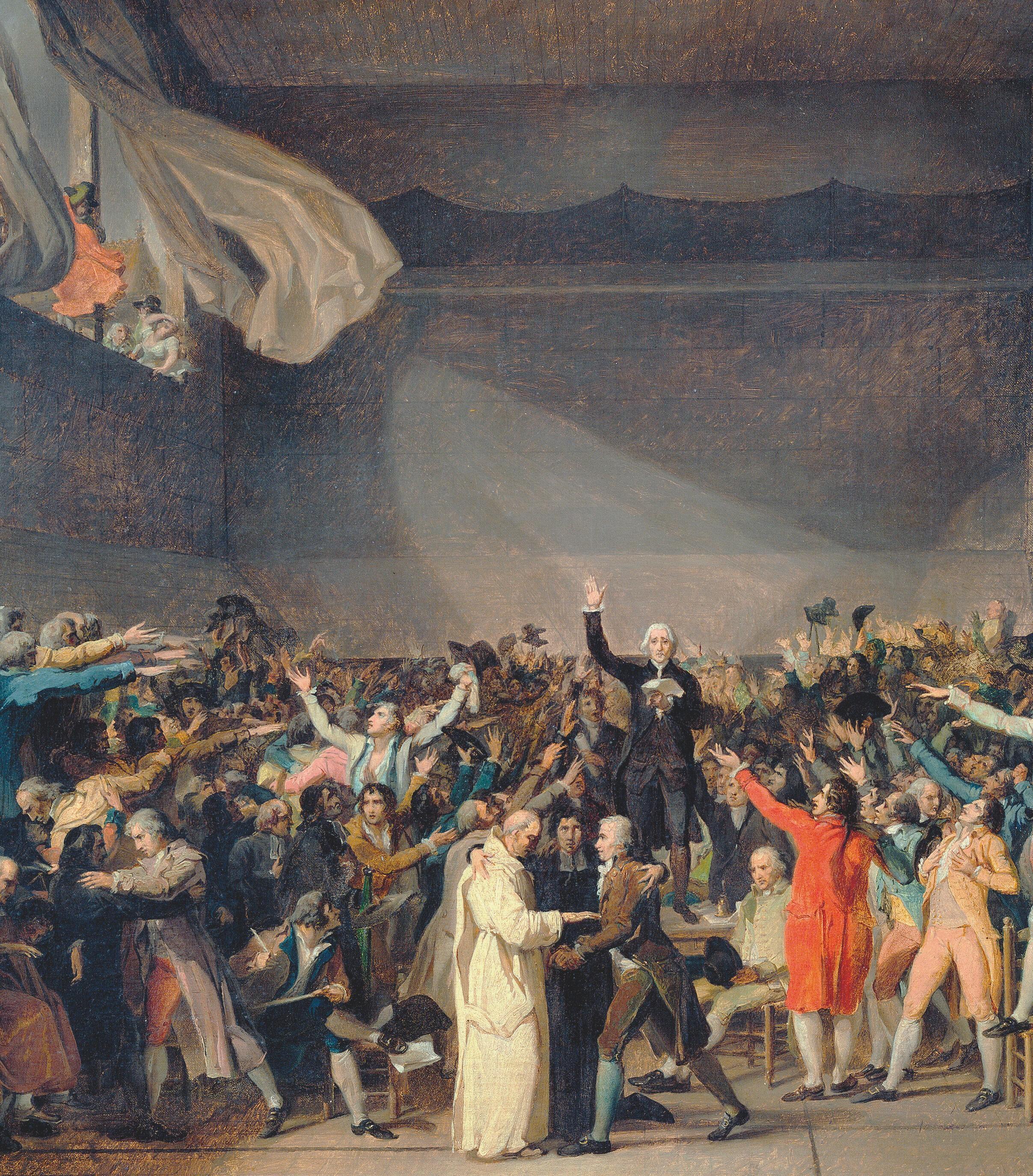 Jacques-Louis David Le Serment du Jeu de Paume