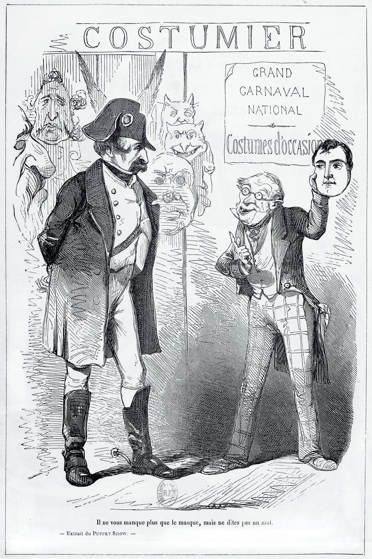 Illustration pour la Revue comique à l'usage des gens sérieux