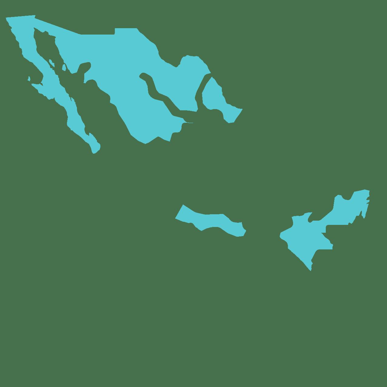 Espace Mexicain résistant à la conquête