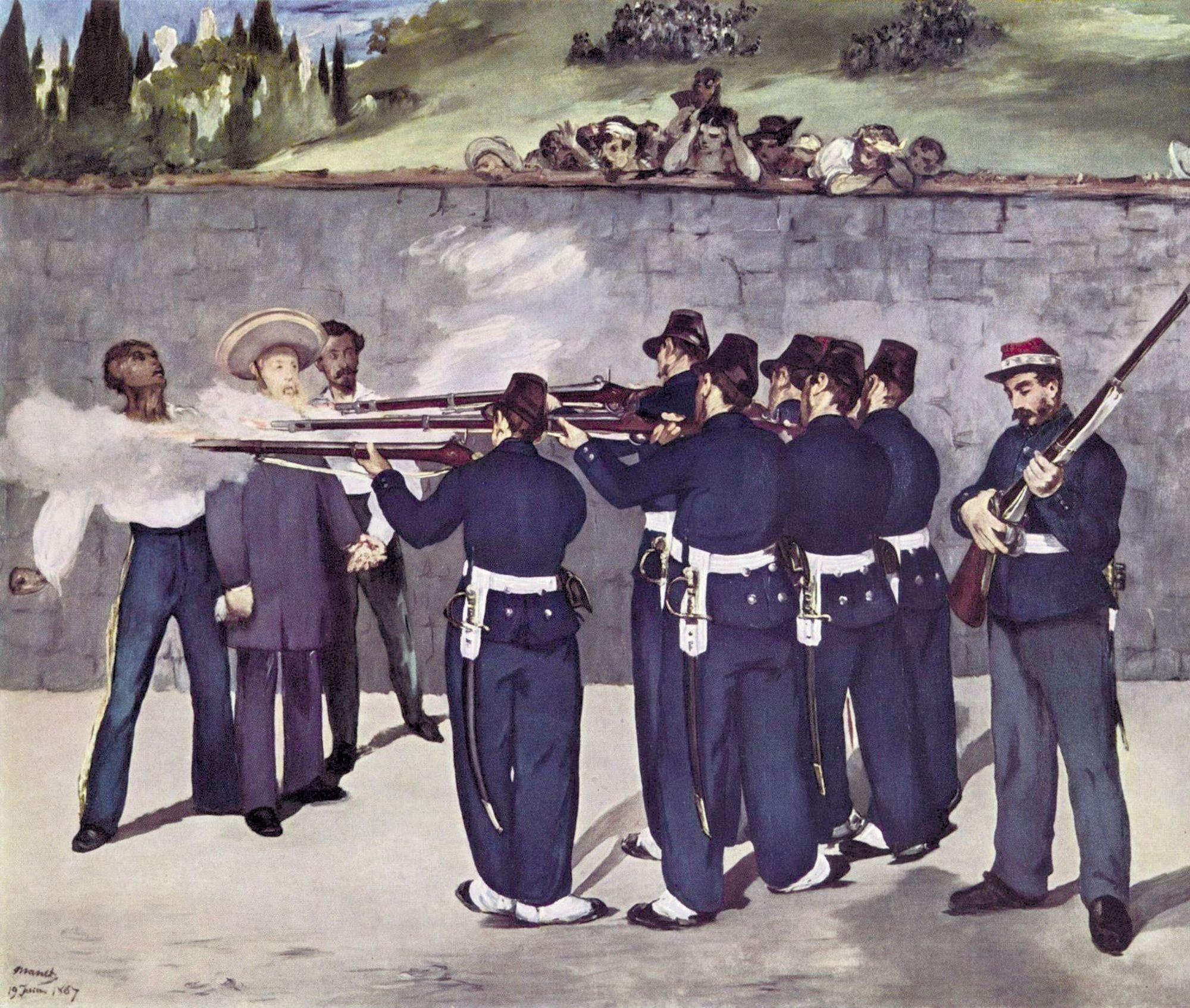 Édouard Manet, L'Exécution de Maximilien, 1867