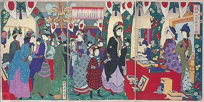 Au Japon, l'ère Meiji (« gouvernement éclairé »)