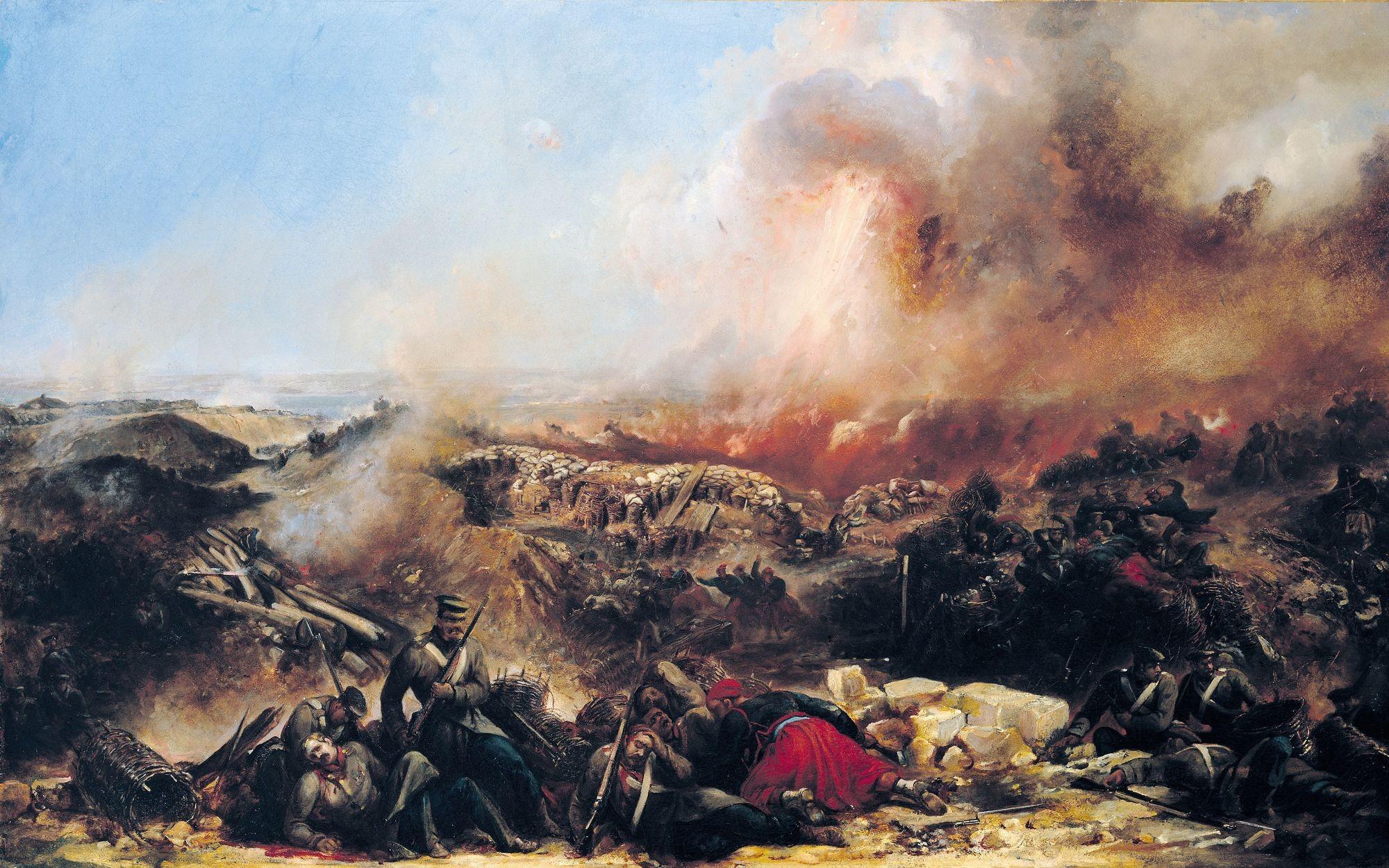 Jean-Charles Langlois, La Bataille de Sébastopol